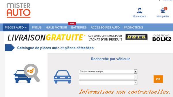 pièces détachées auto pas cher