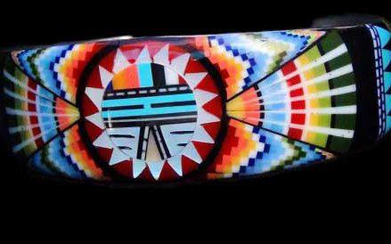 Bijoux navajo turquoise réalisés entièrement à la main